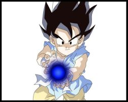 Dragon Ball GT - Goku - kameha by stepup9