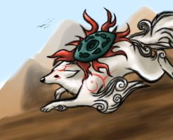 Okami by Jellywolf25