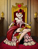Red Queen by JarOfComics