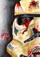 Deathtrooper sketch card by TolZsolt