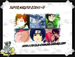 100x100 Naruto pack by exile-chan