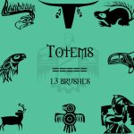 Totems by rL-Brushes