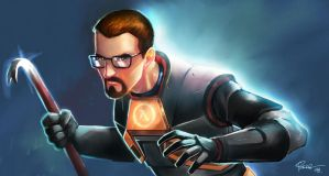 Gordon Freeman from Half Life by jFury