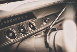 Interior 1962 Chevrolet Impala by AmericanMuscle