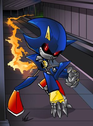 Metal Sonic Pictures Hyper Shadow