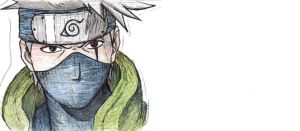 Kakashi II by forever-is-overrated