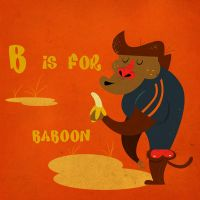 B is for Baboon by Christine-E