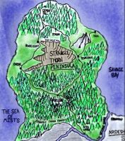 The Strangle Thorn Peninsula (Map Updated) by Beltizar