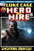 Luke Cage Hero for Hire by Photopops