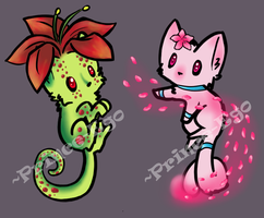 Plant Kittens Adoptables [AUCTION - CLOSED] by Prince-Ego