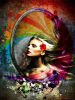 The Different Colorful Rainbow by ozturkdesign