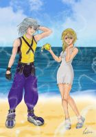 Riku and Namine by Pekkia-Chan