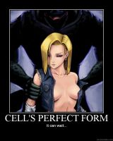 Cell's Perfect Body by Monty-kun