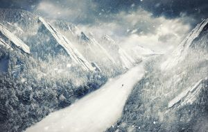 Fighting the snow by Ds4