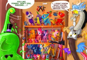 Discord's MLP collection by seriousdog