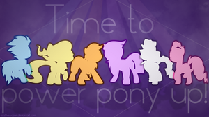 Power pony up! wallpaper by AzizTheWazon