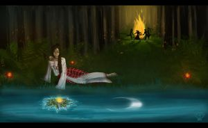 Kupala Night by nakoval-nya