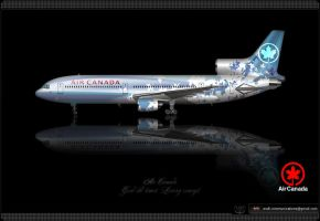 Air Canada Livery concept by SuperstarDeLuxe