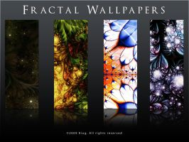 Fractal Wallpapers by Kiug