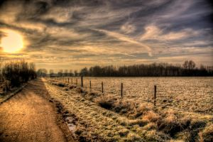 Winter in Autumn HDR 3 by chasnam