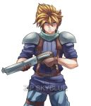 Commission: Cloud The Bodyguard by R-Legend