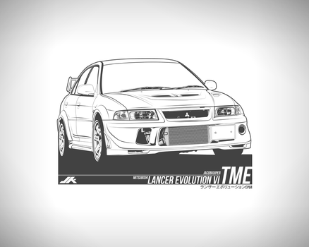 Mitsubishi Lancer Evolution 6.5 TME by JacobKuiper