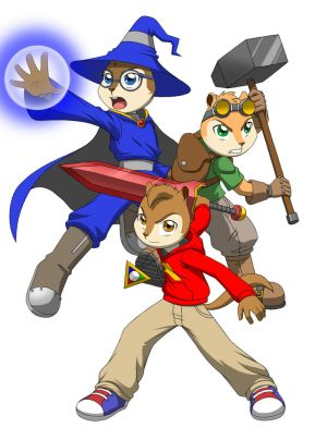 Alvin and the Chipmunks: Trinity Force by Pak009