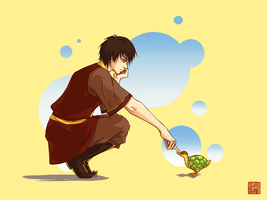 ATLA: Fire Prince + Turtleduck by kirui