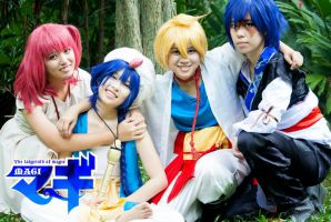 Magi - The labyrinth of magic by chocochocobi