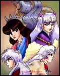 Inugami family by quirkyslayer