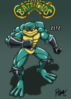 Battletoads - Zitz by Tigerfog