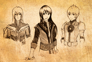 Tales of Vesperia by Speckledluminance