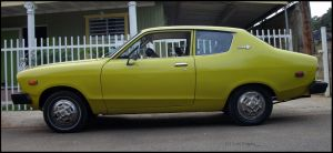 76' Datsun B210 profile by Mister-Lou