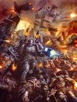 Ultramarines Strike by MajesticChicken