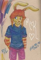 Mick in Markers by RivkahWinter
