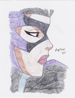 JLU: Huntress by TheGreatUndefeatable