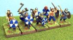 Viking Warband in Blue by RavenFeast