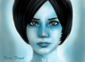 Cortana~Halo by Sedilaraa