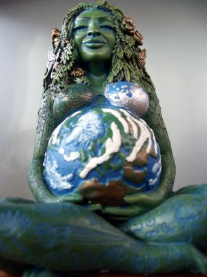 Gaia: with child
