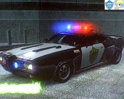 Burnout Paradise Crossover - Officer Derpy Hooves by Sfrhk678