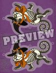 Halloween Witch Kitty Cut Out Decor Download by HeatherHitchman