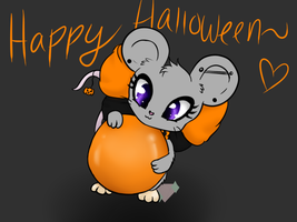 Happy Halloween (SpeedPaint) by DarkNinjaBlackStar