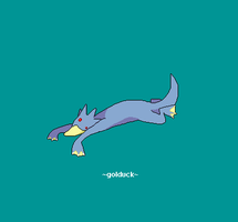 golduck 055 by juenavei