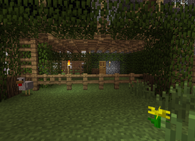 Village Creations - chicken pen by DPrime123