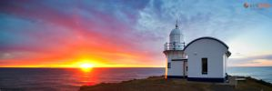 Kirk-Hille-Photography-Port-Macqauire-Sunrise-Pano by Furiousxr