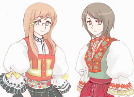 folk clothing by maybebaby83