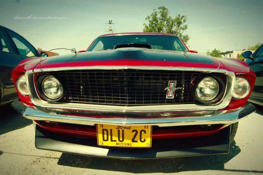 Old Mustang by spinmywheel