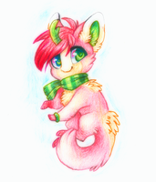 Cherry Traditional Art by Smushey