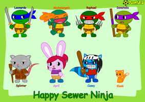 Happy Sewer Ninja by Porn1315