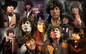 Tom Baker: The 4th Doctor by s-dawg